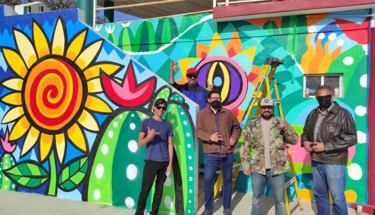 Mural, pintura, cultura, IMAC