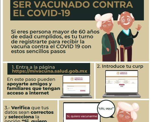 Vacunacion, Covid-19, Adultos Mayores, Registro